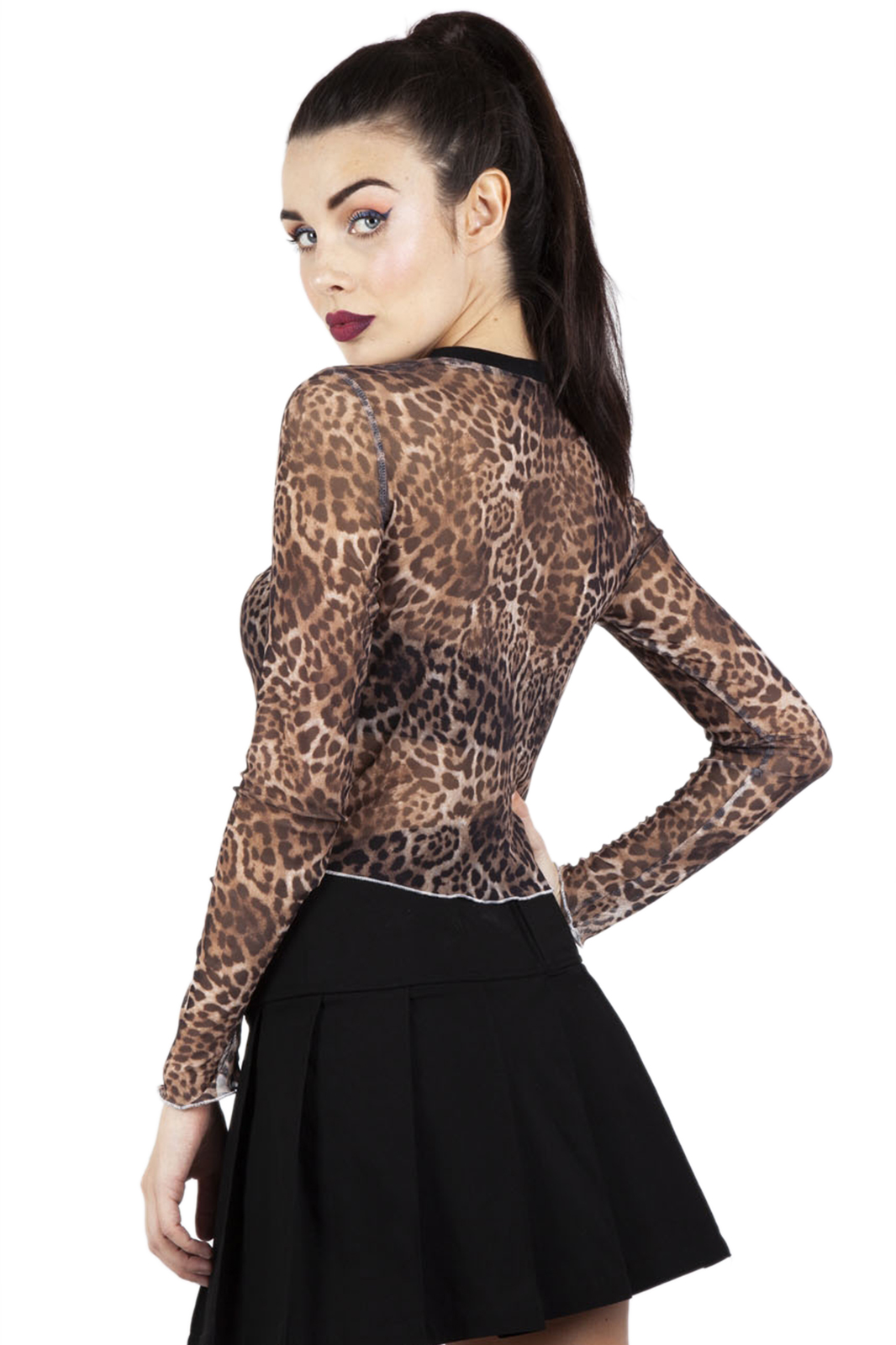 Native New Yorker Top Leopard