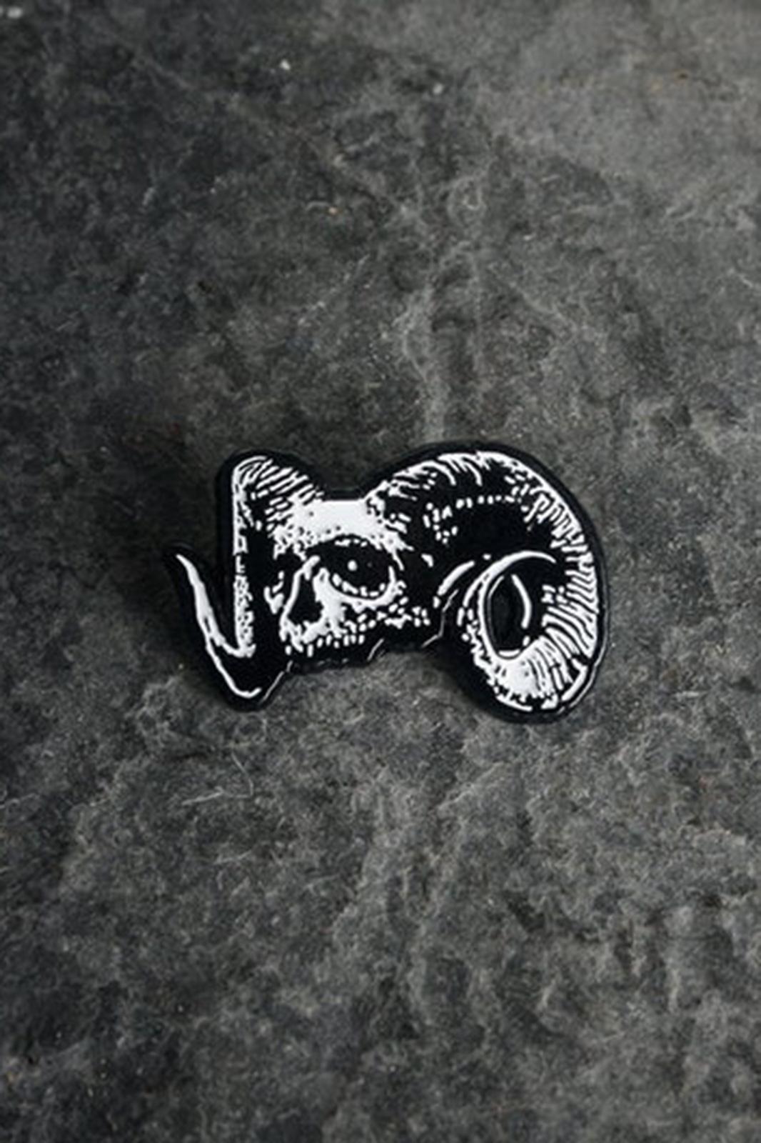 Badge Demon Head