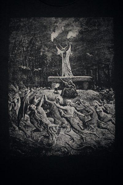 Tee Witches Sabbath Black