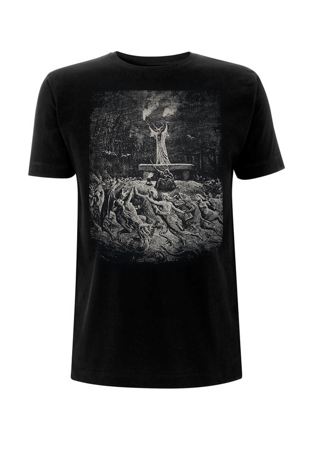 Tee Witches Sabbath Black