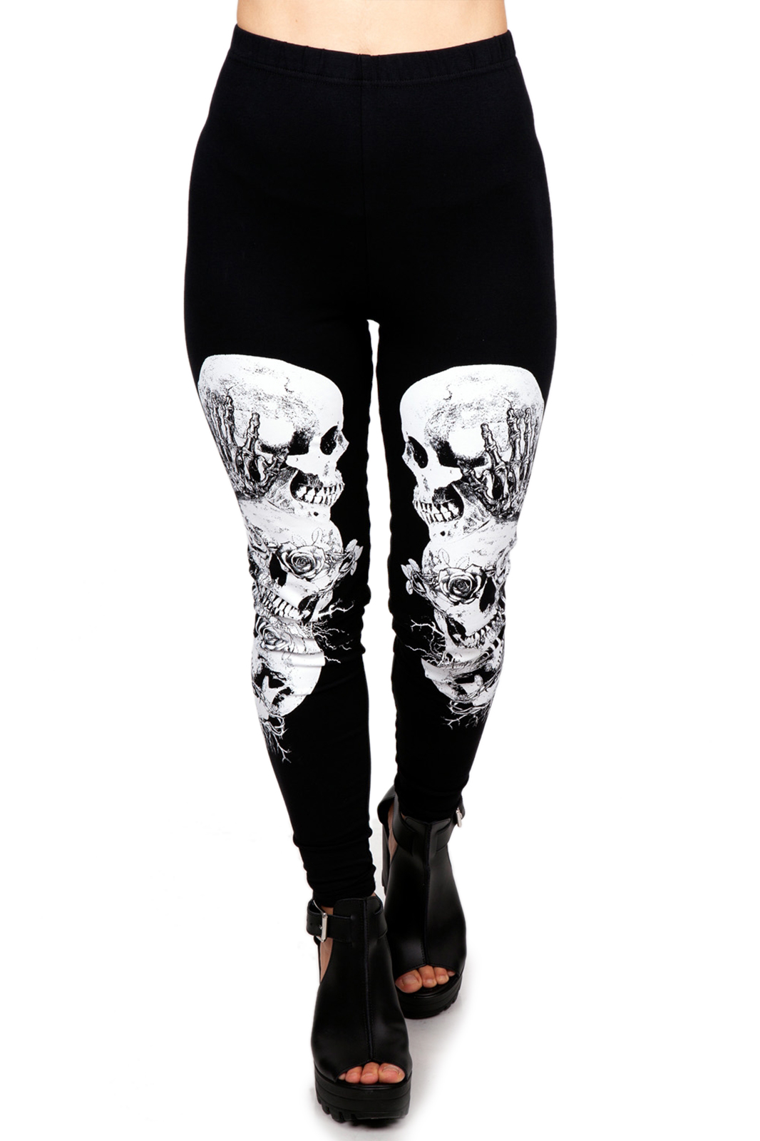 Still Evil Leggings Black