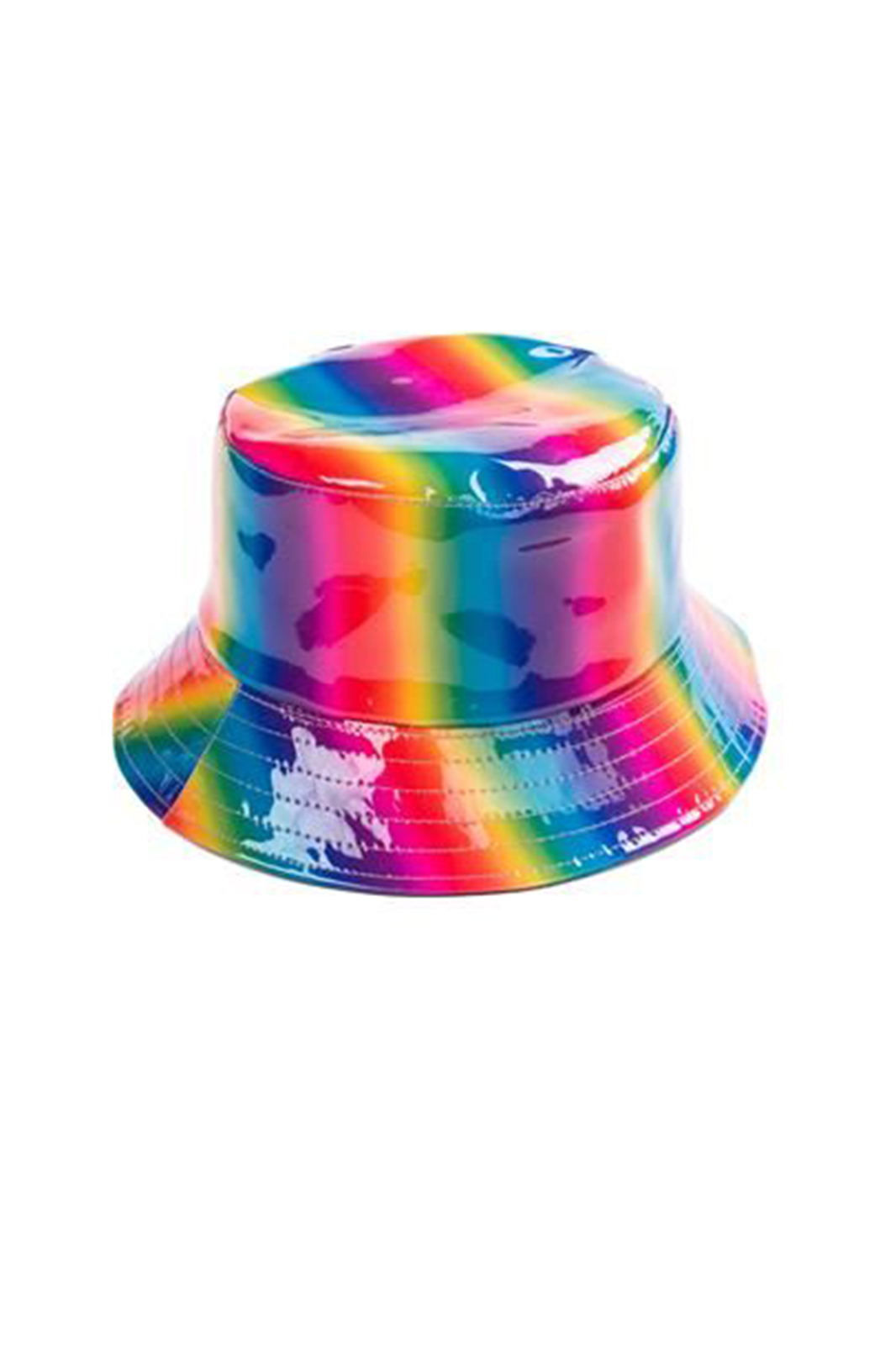 Rainbow Holographic Bucket Hat