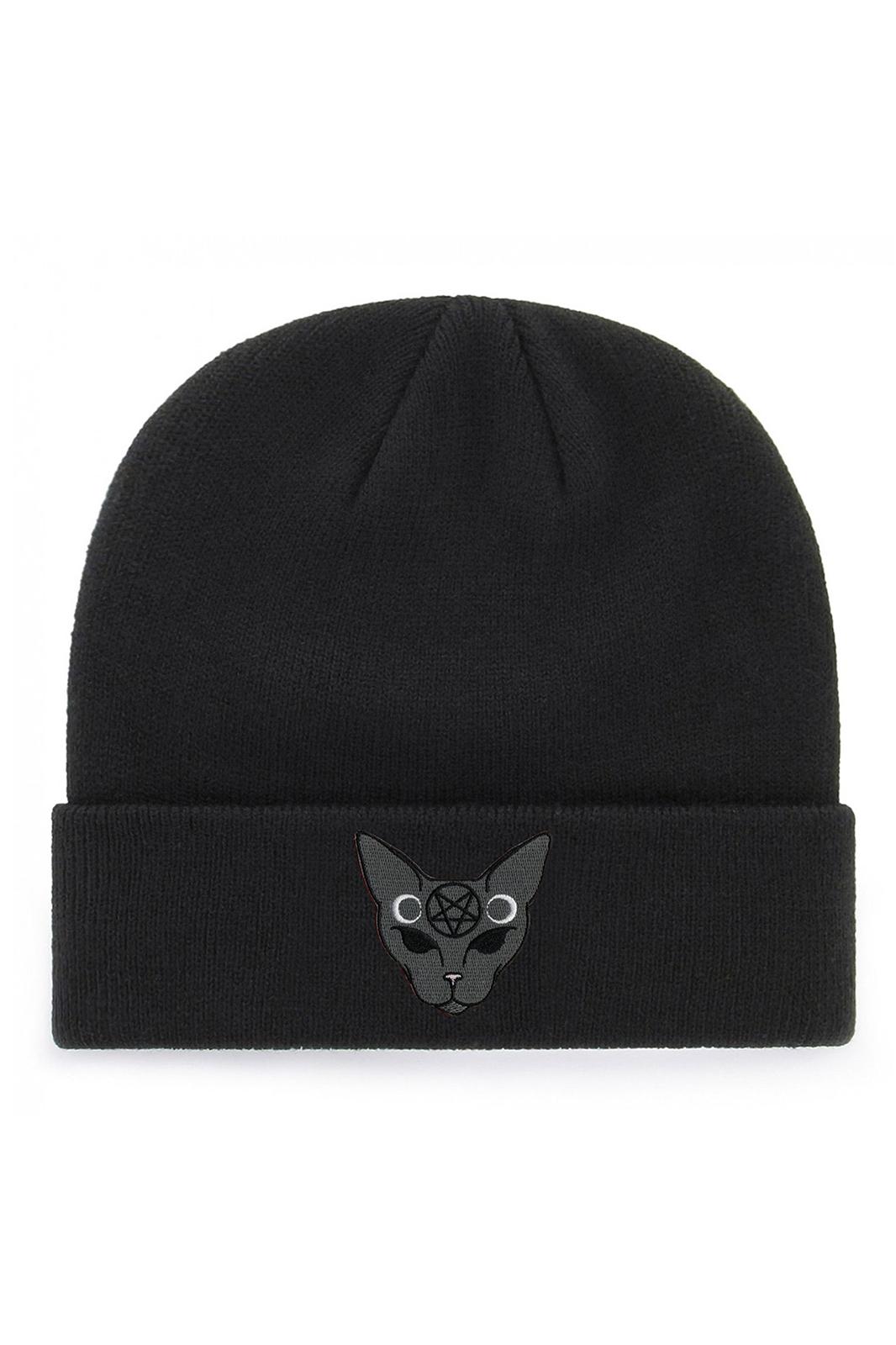 Gothic Cat Beanie