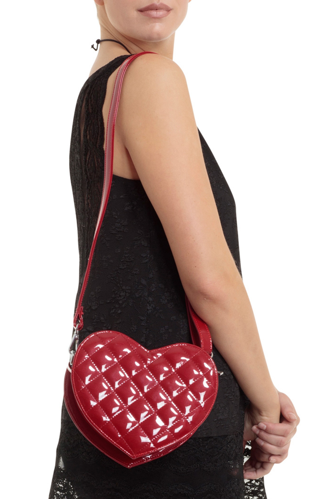 Dark Heart Bag Red