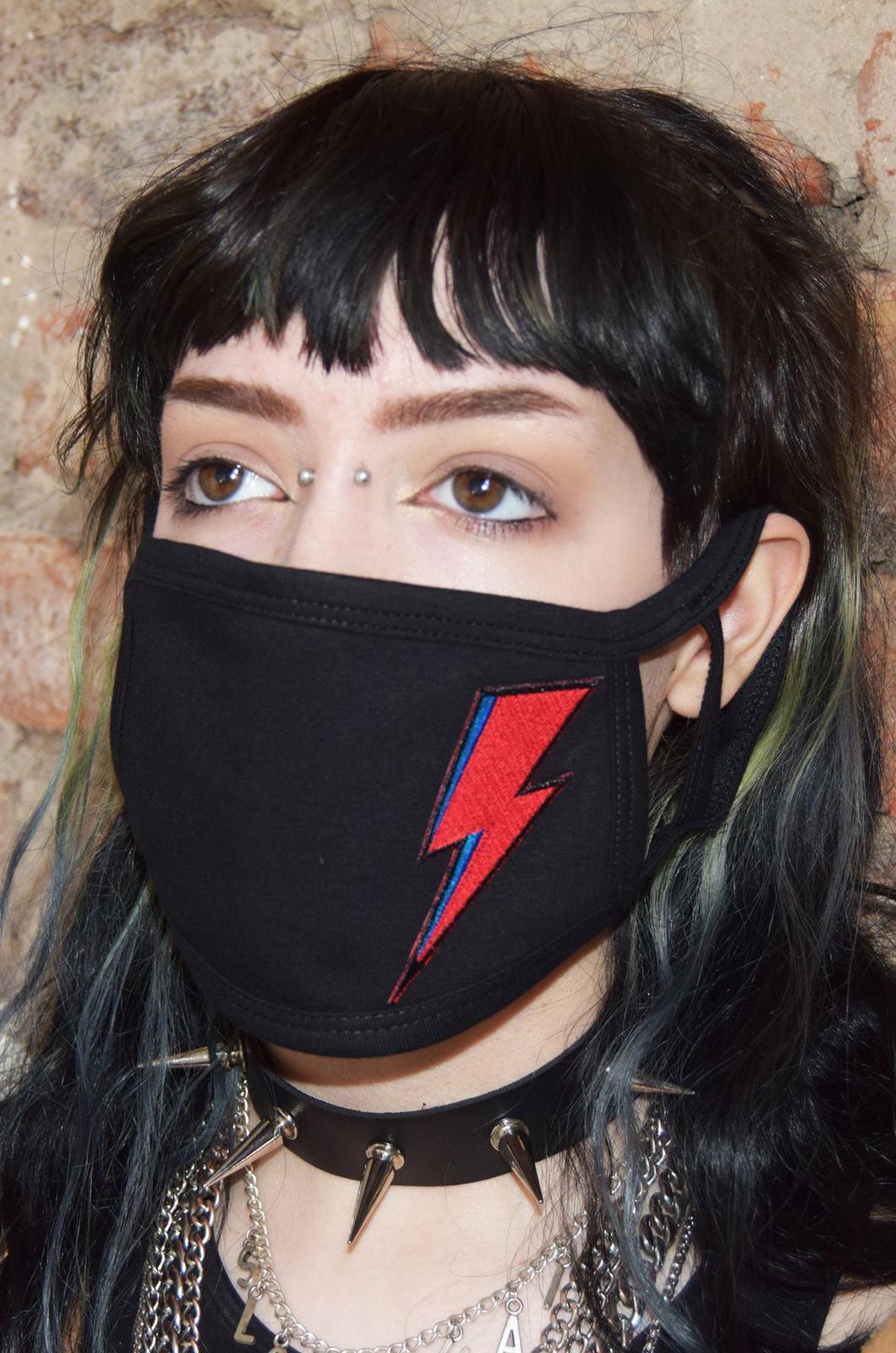Bowie Bolt Face Mask