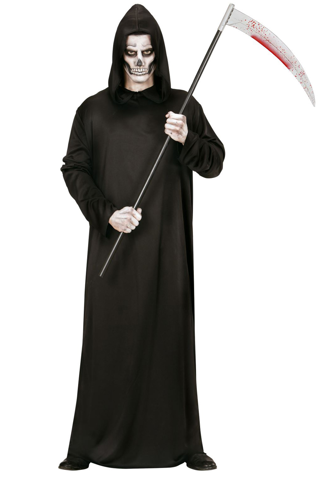 Grim Reaper Hooded Rob Black