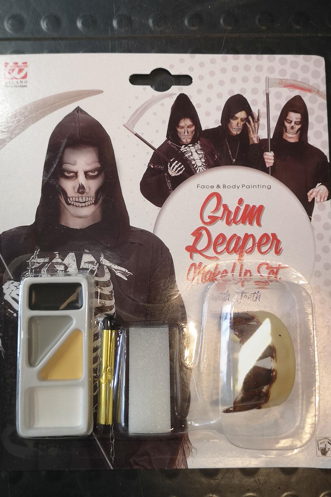 Grim Reaper Make-Up Set