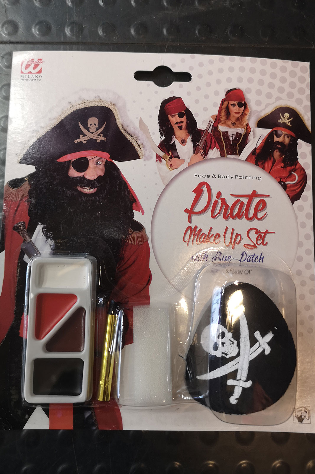 Pirate Make-Up Set