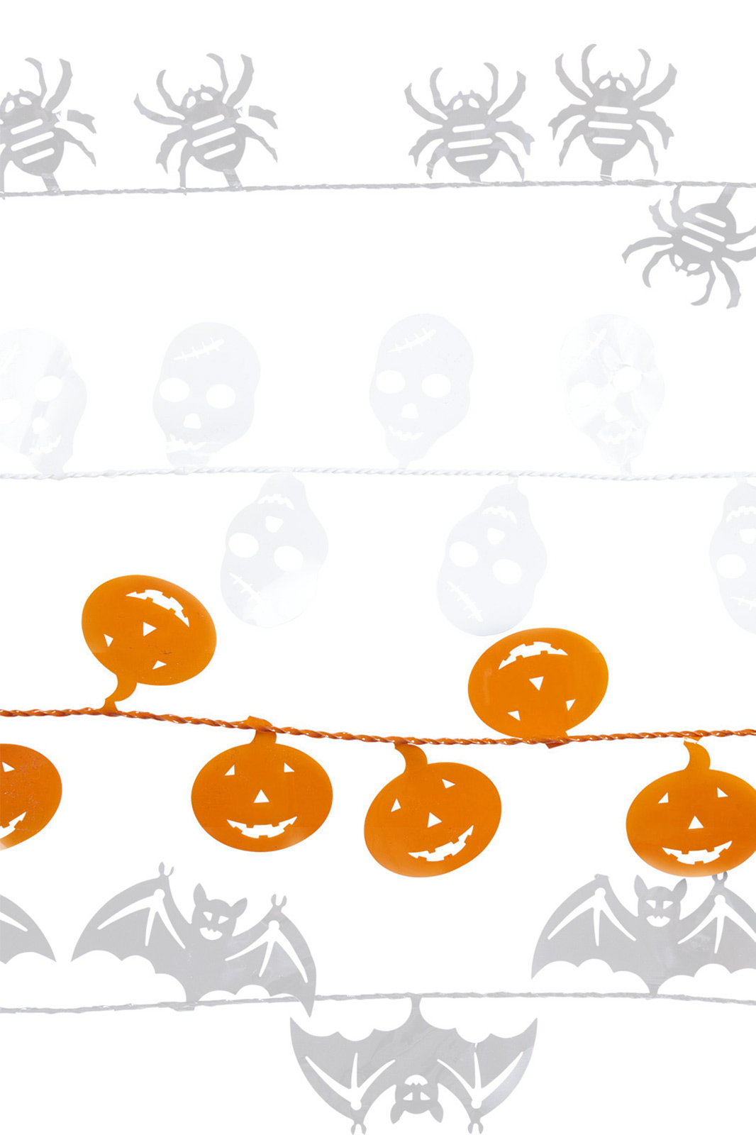 Halloween Wire Pumpkins