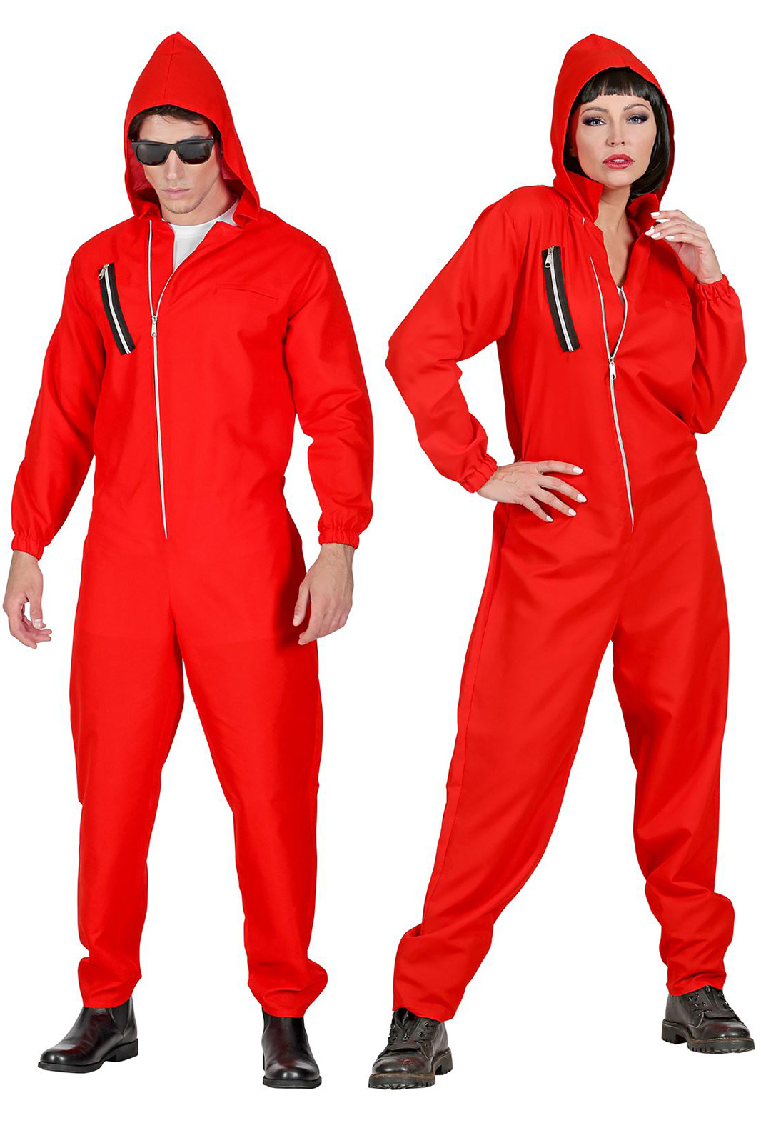 Takers Jumpsuit Red