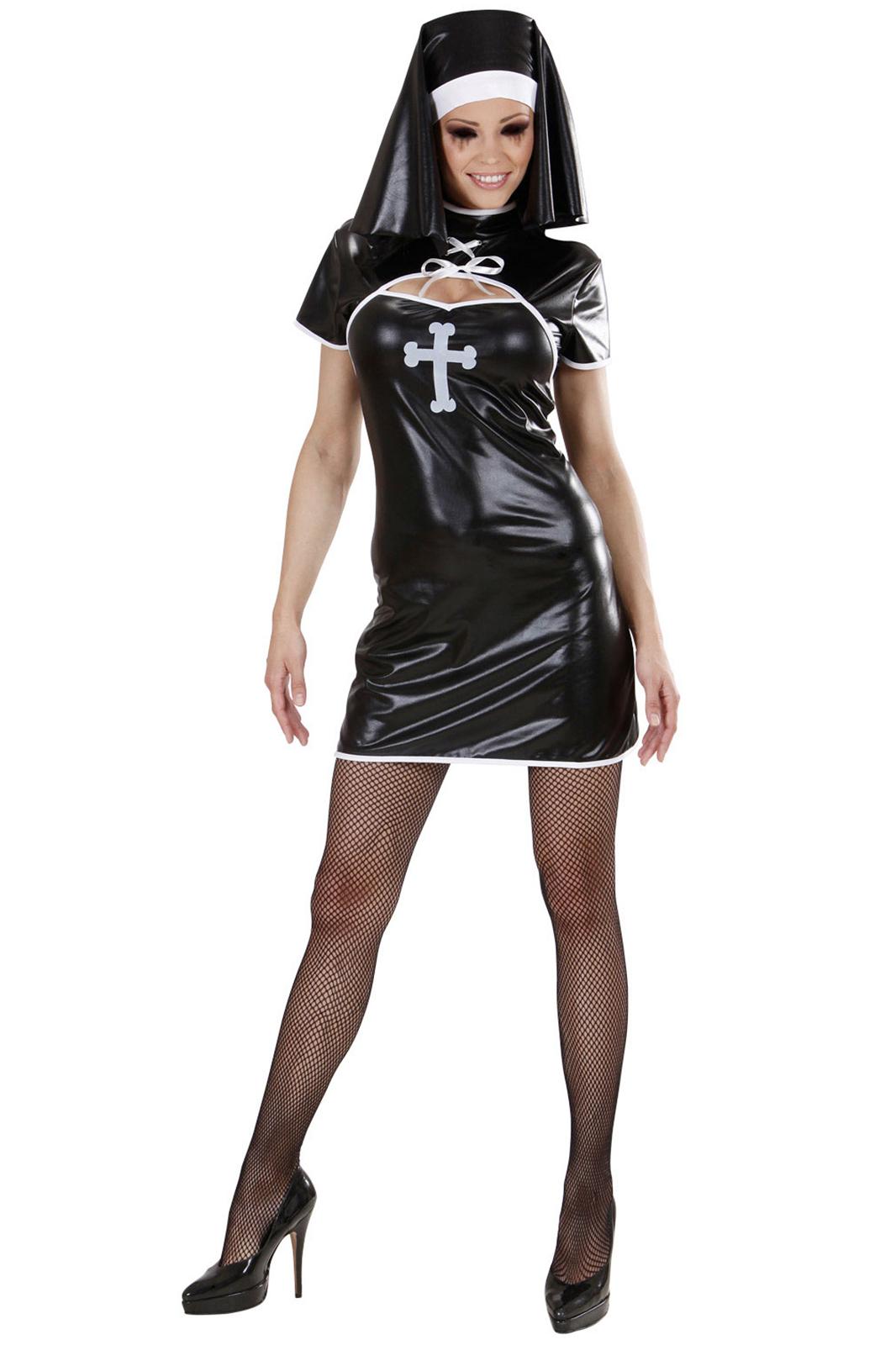 Sinner Nun Black