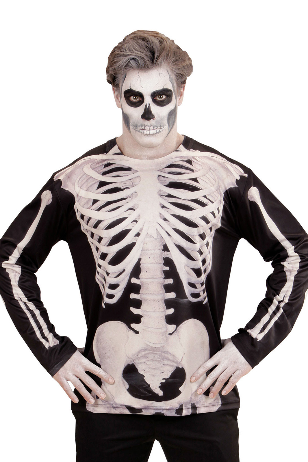 Skeleton Man Black