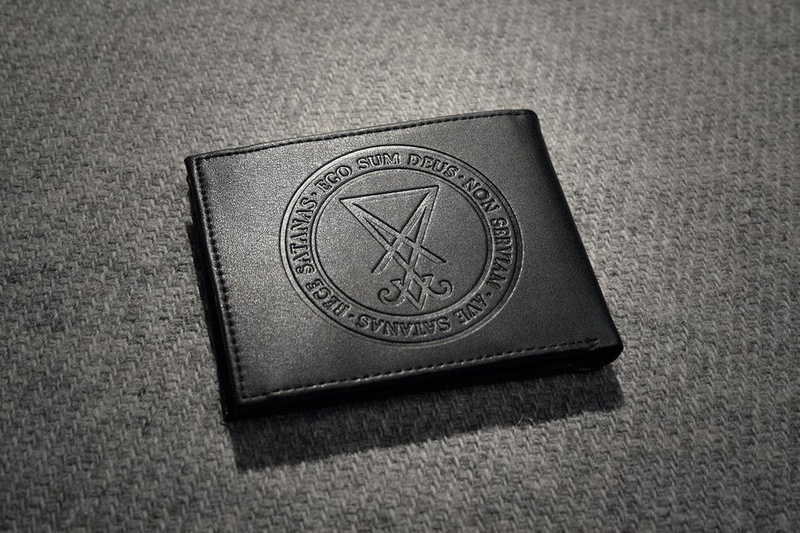 Baphomet Vegan Leather Wallet