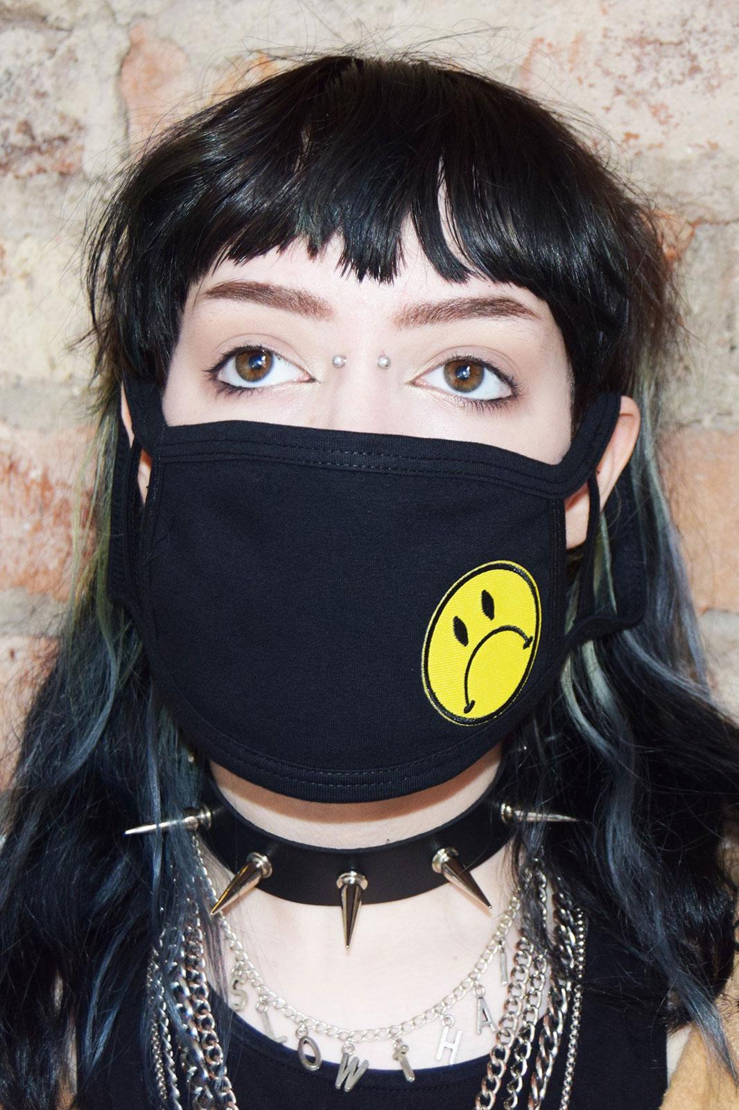 Sad Face Mask