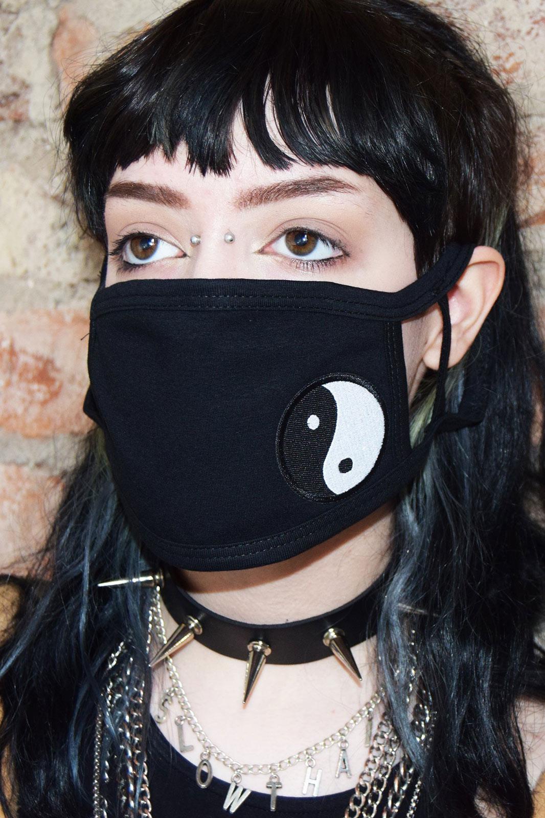 Yin Yang Face Mask
