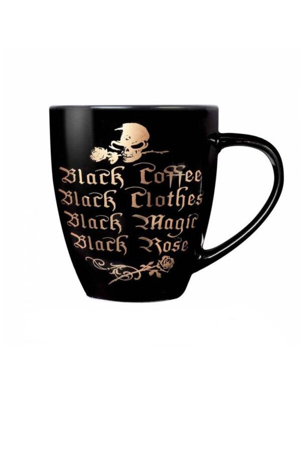 Black Coffee, Black Clothes Mug
