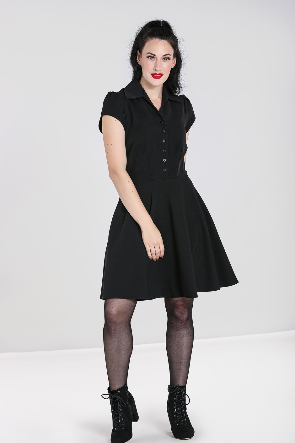 Carlie Mini Dress Black