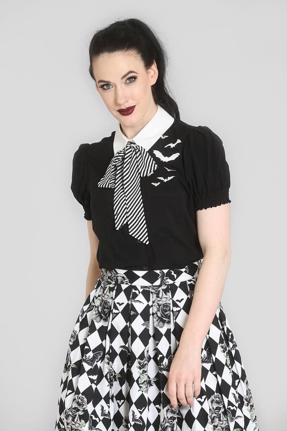 Trixie Blouse Black