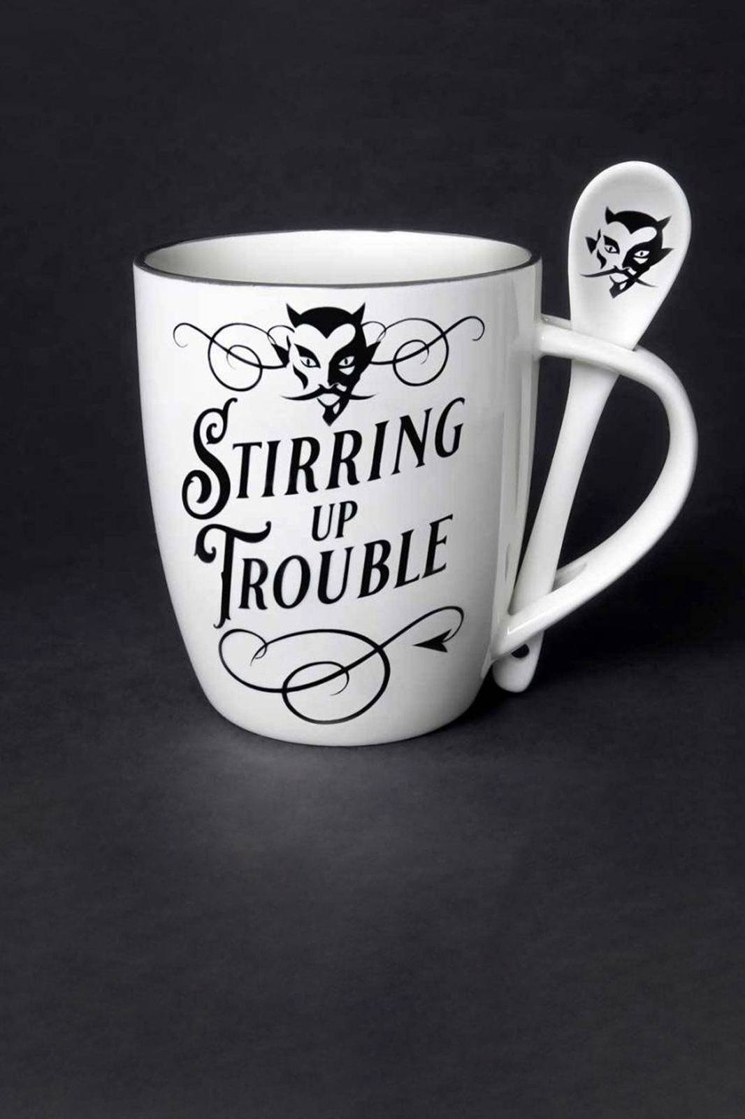 Stirring up Trouble Mug and Spoon Set