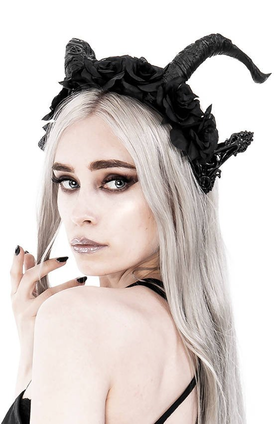 Dark Elf Rose Crown