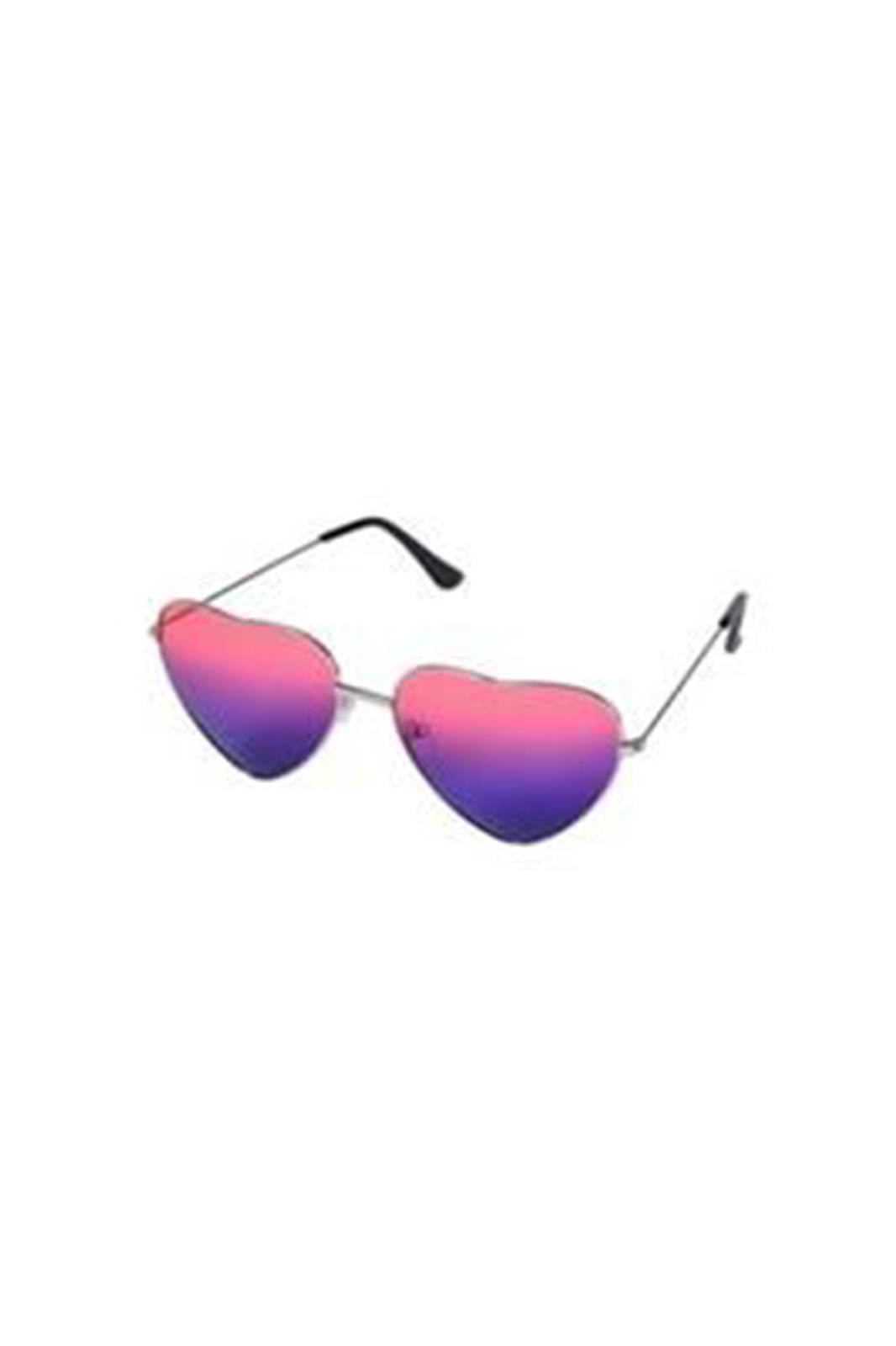 Sunglasses Heart Two Tone Red Blue
