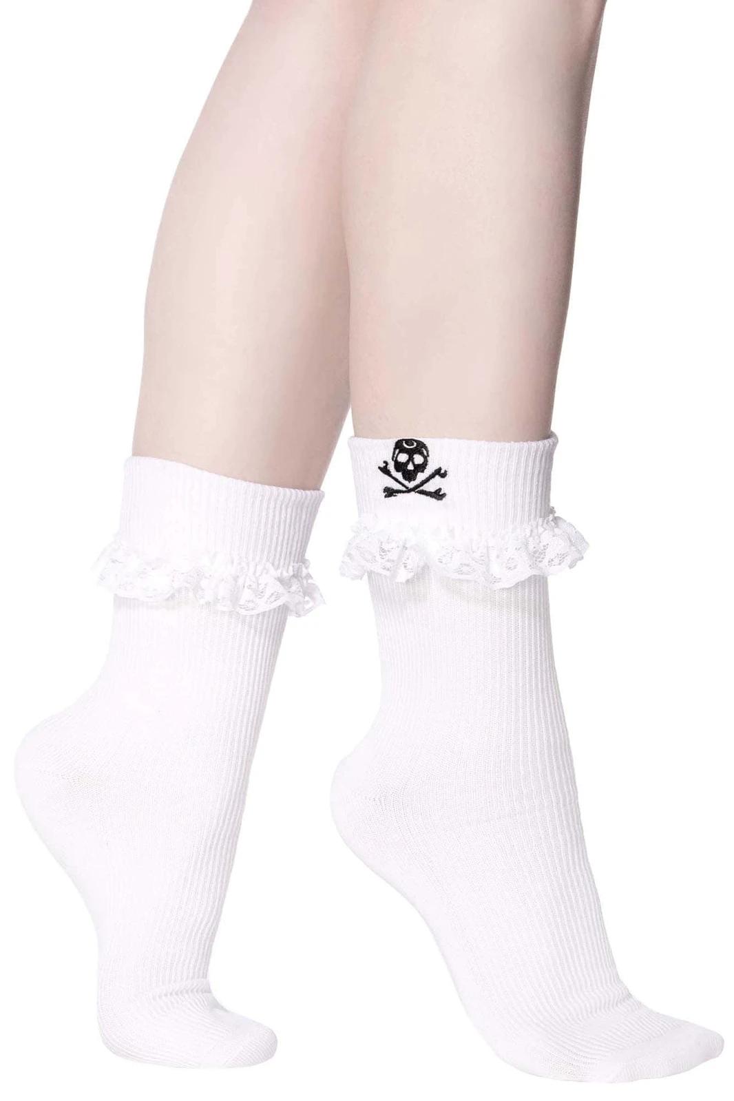 Riot Ruffle Socks