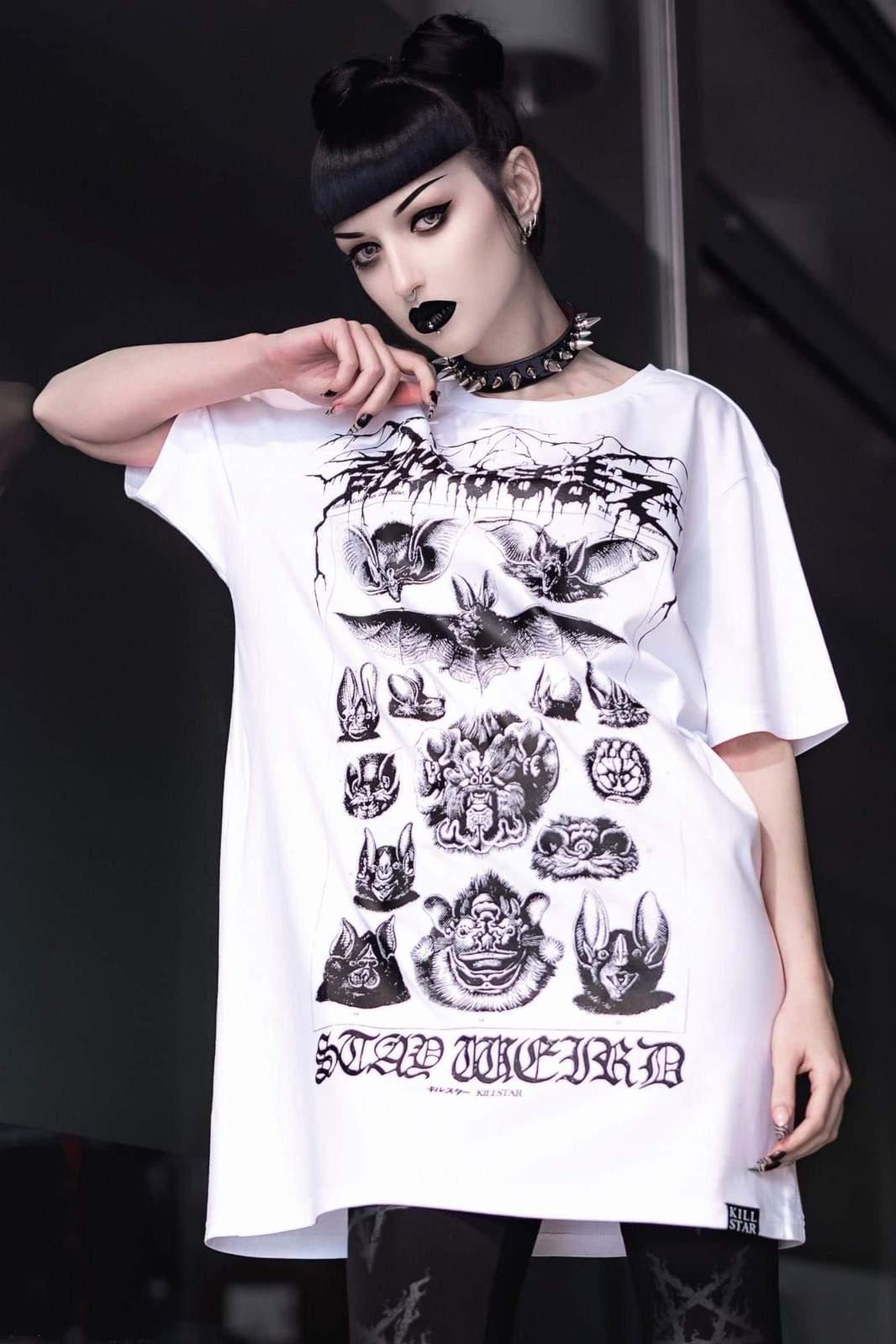 Stay Weird T-Shirt White