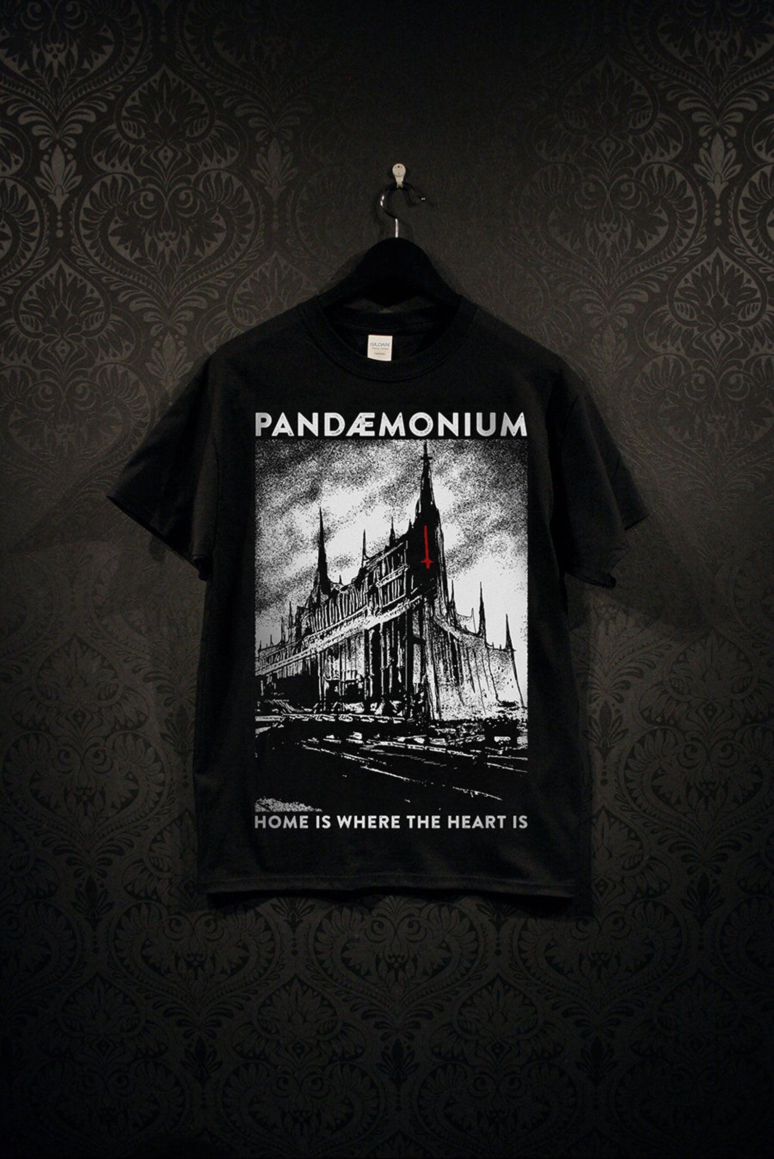 Pandemonium Tee Black