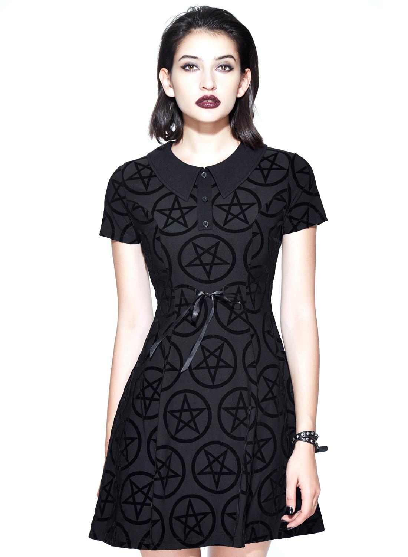 Restless 'N' Wild Vampirela pentagram klänning