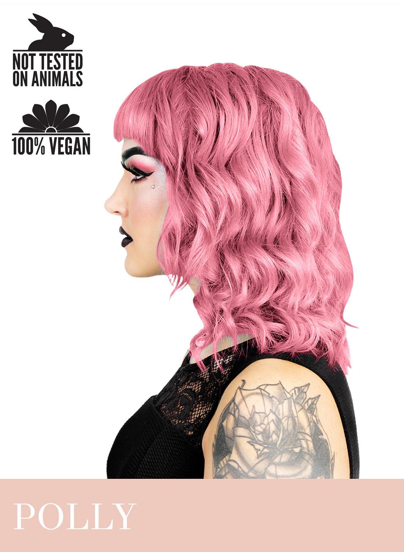 Herman's Polly UV pink hårfärg