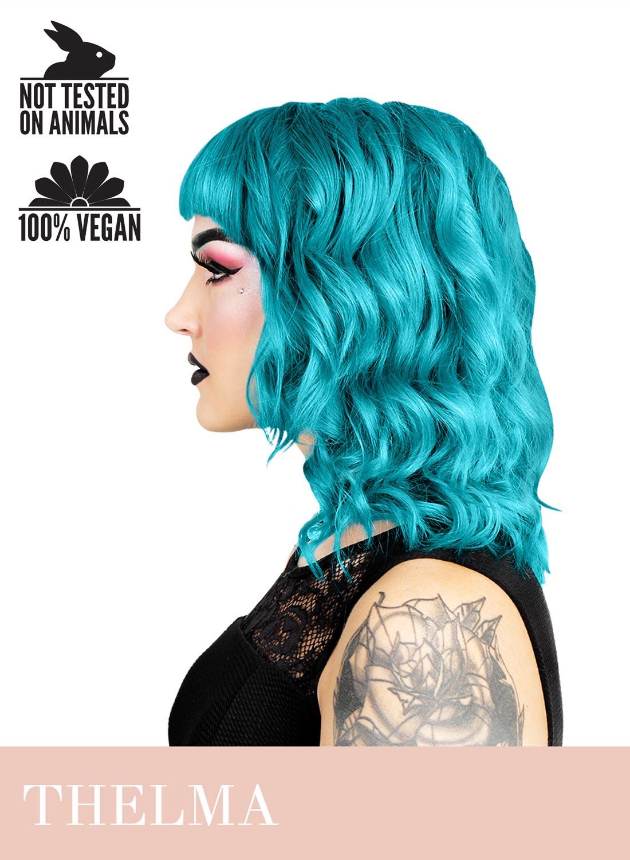 Herman's Thelma turquoise hårfärg