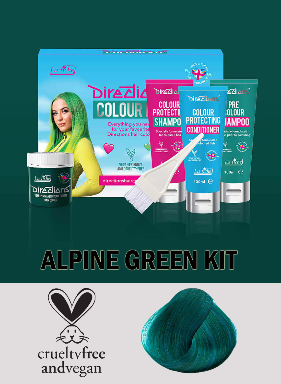 Directions Alpine Green kit
