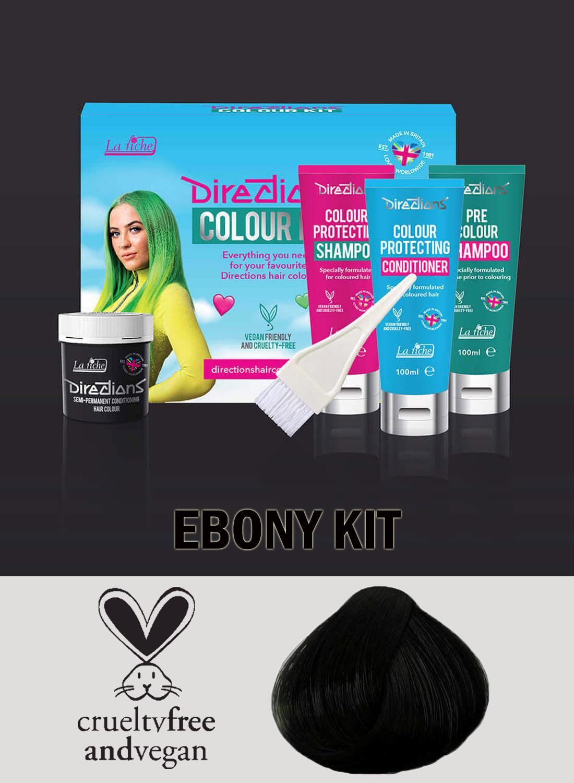 Directions Hair Colour Ebony kit