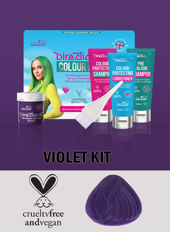 Directions Hair Colour Violet kit