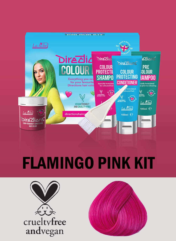 Directions Flamingo Pink Kit