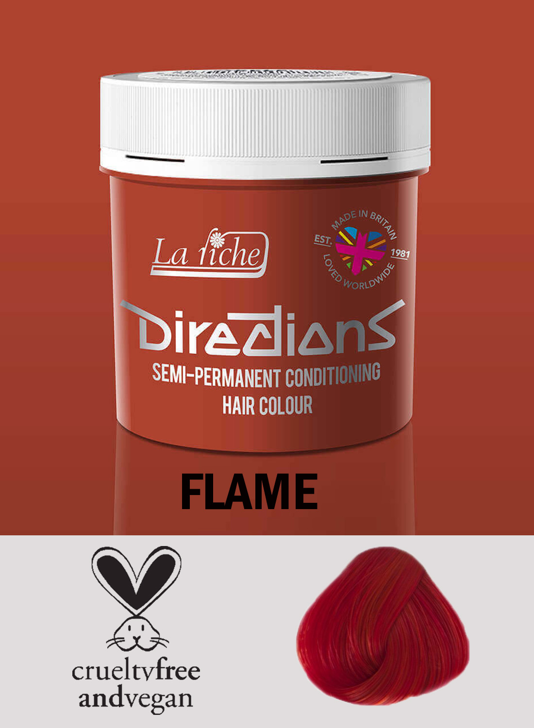 Directions Hair Colour Flame
