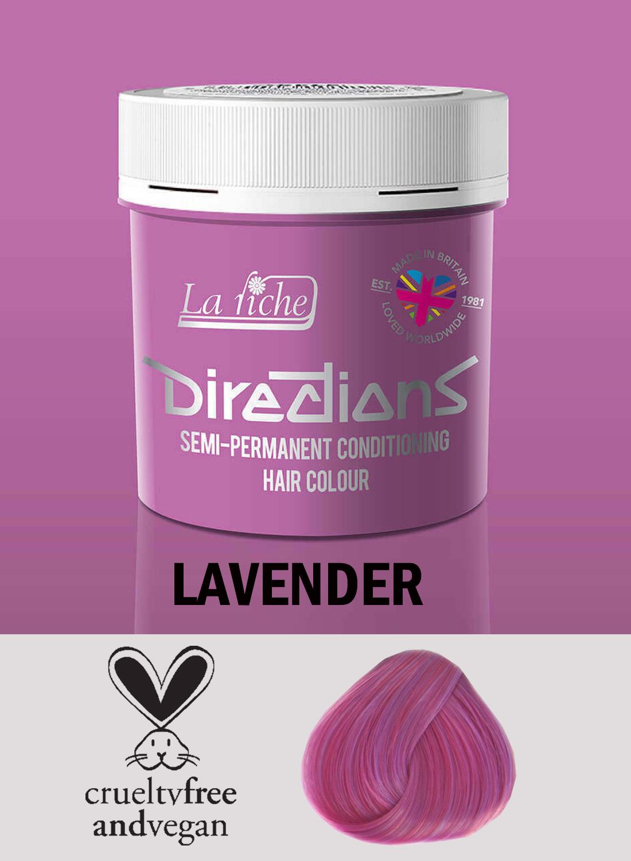 Directions Hair Colour Lavender