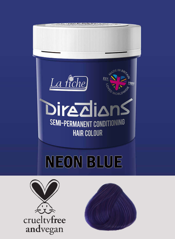 Directions Hair Colour Neon Blue