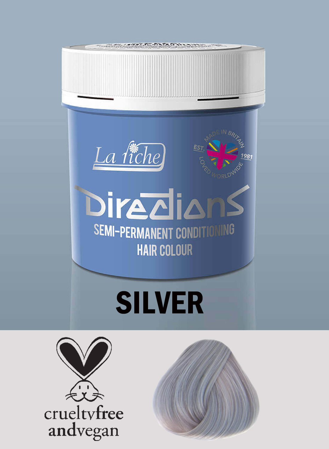 Directions Hair Colour Silver