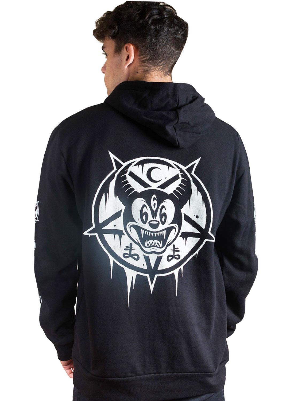 Evil Micky Zip Hoodie