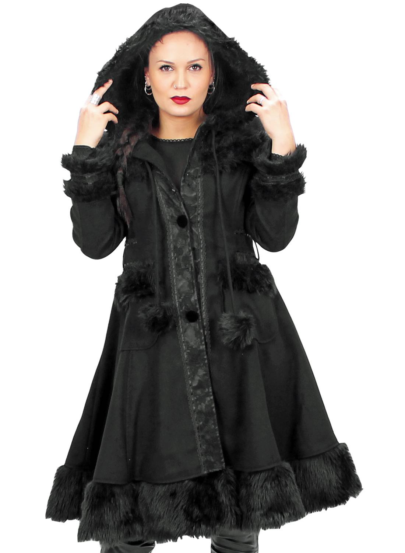 Black Forest Cupcake Coat