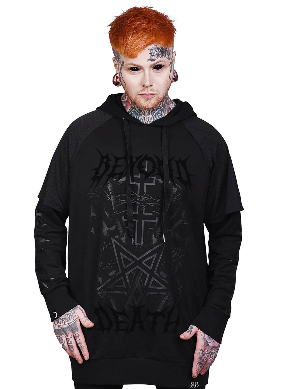 Killstar Beyond Death Hoodie Black