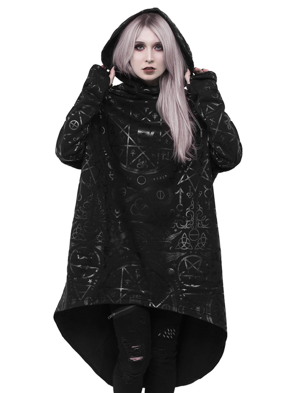 Cult Ritual Hoodie Black