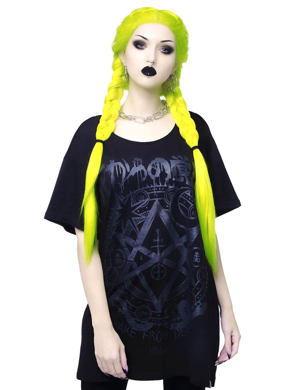 Killstar Wake From Death T-shirt Black