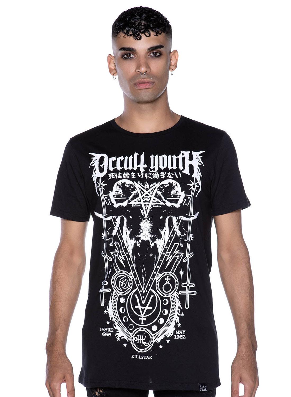 Killstar Occult Youth T-shirt Black