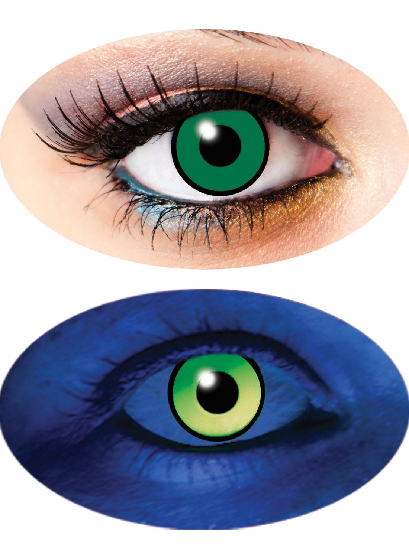 3 Month UV lenses Green