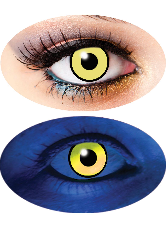 3 Month UV lenses Yellow