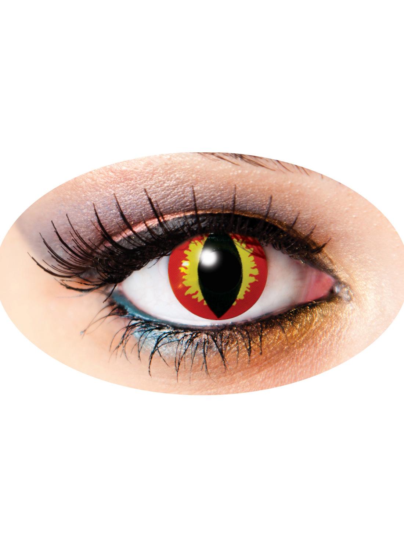 3 Month Funky lenses Dragon Eye