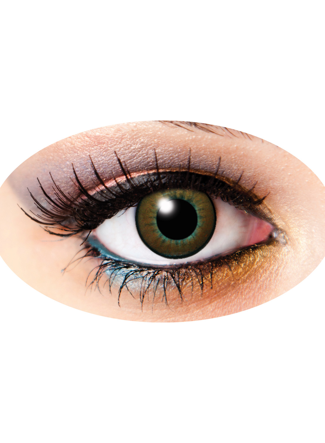 3 Month Lenses Two Tone Brun