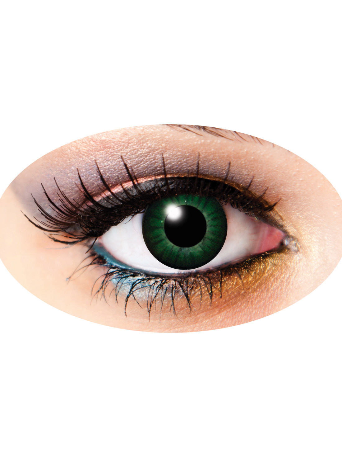 3 Month Lenses Two Tone Green